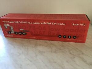 Nooteboom Euro-78-04 Surbaissé Avec Tracteur Daf 8x4