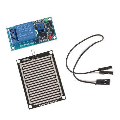1Set Rain Water Raindrop Relay Sensor Control Module Kit 12V For Arduino Robot