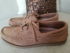 SPERRY-TOP-SIDER-MEN-S-AUTHENTIC-2-EYE-BOAT-SHOE-SIZE-11M-VERY-GOOD-CONDITION