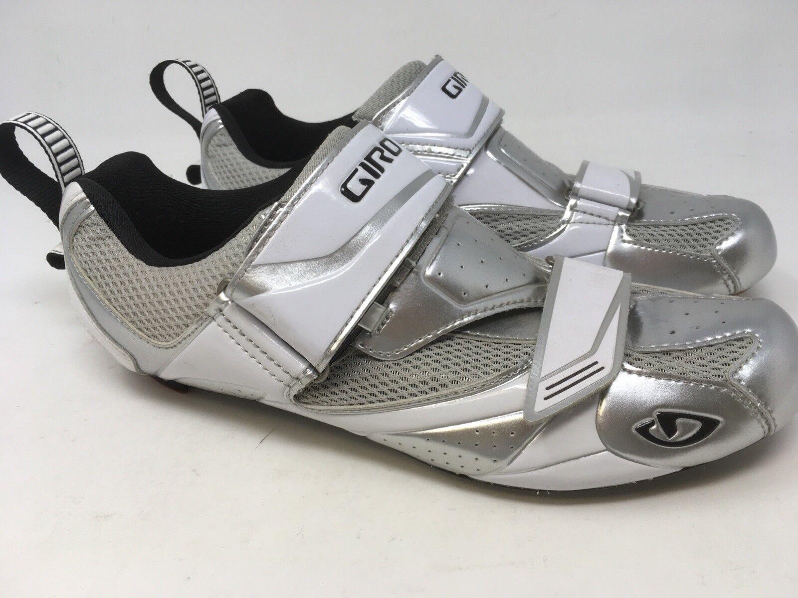 NEW GIRO MELE Men's Tri Triathlon  US 9.25 Carbon shoes