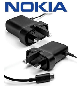 Genuine-AC-20x-Micro-USB-Mains-Charger-with-1-5m-Cable-UK-Plug-for-Nokia-Phones
