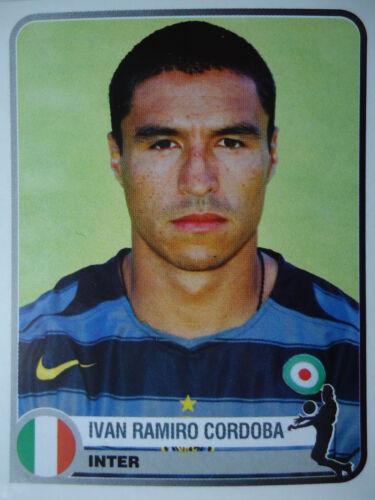Panini 147 Ivan Ramiro Cordoba Inter Mailand Champions of Europe 1955-2005