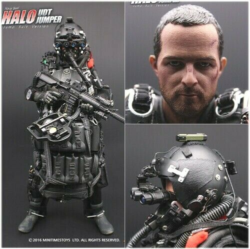 Mini Times 1//6 Scale Action Figure Toy US Navy Seal Halo UDT Jumper MT-M004