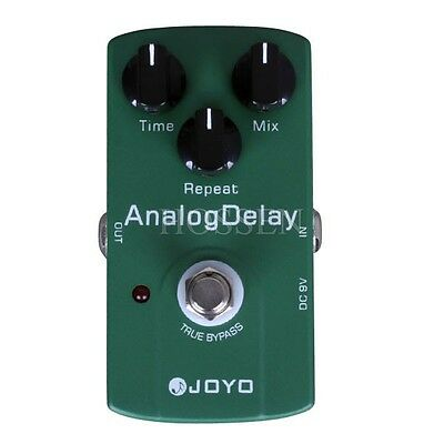 Joyo JF-33 Electric Guitar True Bypass Analog Delay Drive Effect Pedal USA STOCK
