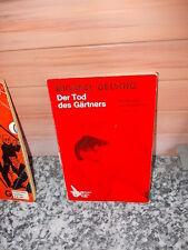 Der Tod des Gärtners, ein Kriminalroman von Michael Delving, aus dem Goldmann Ve