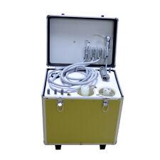 Portable Dental Turbine Unit Air Compressor Suction System Triplex Syringe 4h