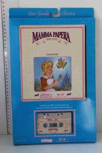 CASSETTA WORLDS OF WONDER WONDERLANDS 1986 FAVOLE MAMMA PAPERA LIBRO