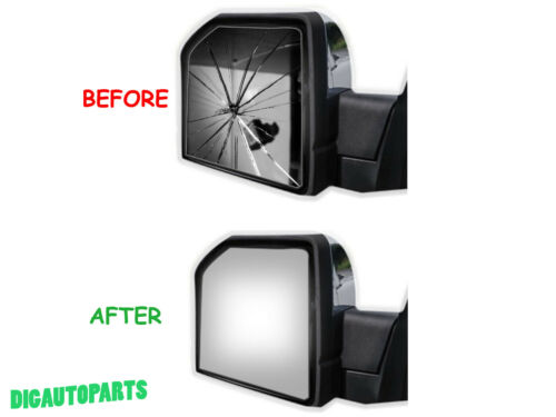 NEW Mirror Glass for 04-10 Ford F-150 Pickup Truck Driver Left Side LH