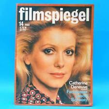 DDR Filmspiegel 14/1980 Vladimir Brabec Catherine Deneuve Horst Buchholz C