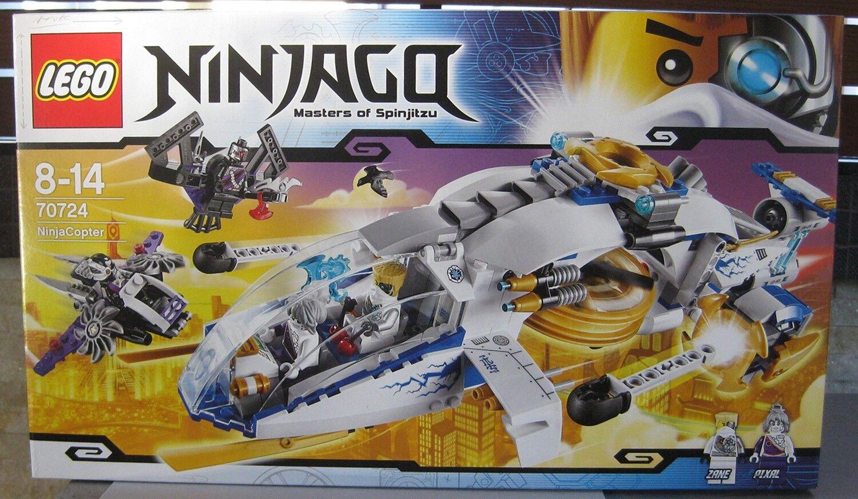 LEGO NINJAGO 70724 NINJACOPTER **BRAND NEW DATED 2014 **