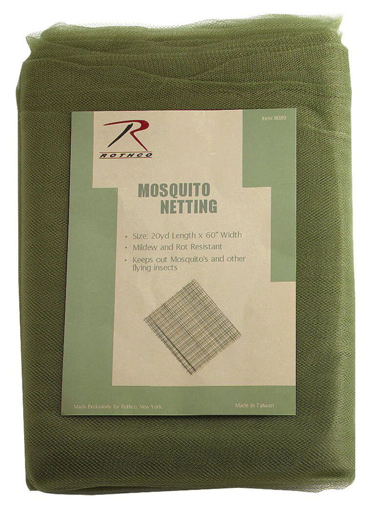 Militaire Gi Style Insecte Moustique Filet Camping Randonnée Maison Rothco Rothco Maison 8089 39200a