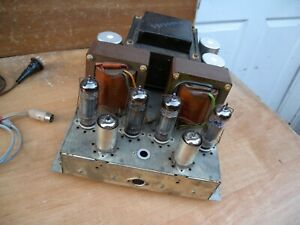 vintage grundig tube power condition w tested germany ebay. Black Bedroom Furniture Sets. Home Design Ideas