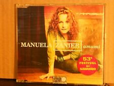 MANUELA ZANIER - AMAMI-NUOVOSIGILLATO-X-FACTOR-PANCERI- nuovo 2002