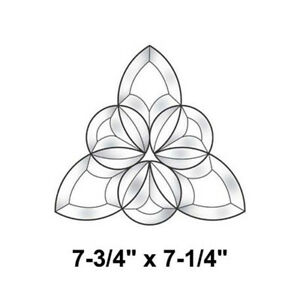 4 x 7-3//4 Exquisite Cluster