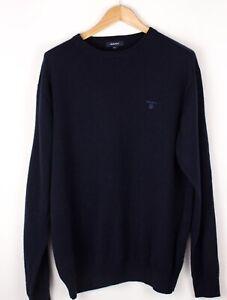 GANT-Men-Lambswool-Casual-Knit-Sweater-Jumper-Size-2XL-XXL-ATZ635