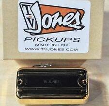TV JONES THUNDER'BLADE GOLD BRIDGE BASS PICKUP