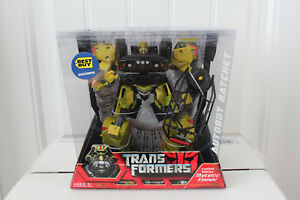 Finition métallique à cliquet Autobot Transformers Best Buy Exclusive Voyager Class