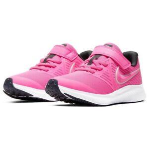 Scarpe Bambina Nike Star Runner Rosa Sneaker Running Palestra Sportiva a Strappo