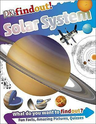 1 of 1 - Solar System (DK Findout!), Good Condition Book, DK, ISBN 9780241225202