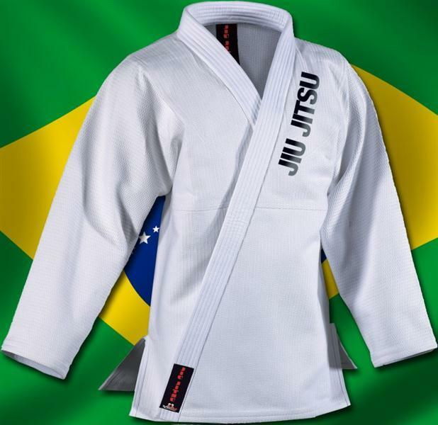 Brazilian Jiu Jitsu BJJ Anzug Rio weiss von Danrho® 180 cm