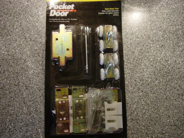 Stanley Hardware V150 Zinc Plated Pocket Door Replacement Kit