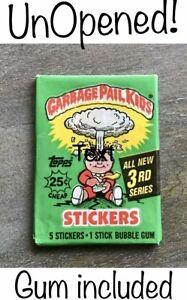 Garbage Pail Kids 3rd Series 1986 unopen pack