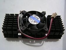 AVC Fan & Black Aluminium Heat Sink for P111 12VDC 0.15A 50x50x10mm OL0342