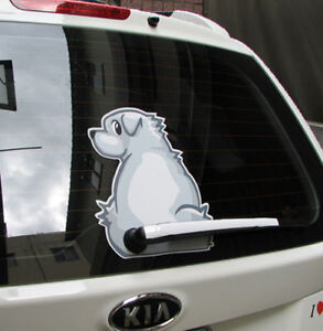 Fun-Decals-Sticker-for-Car-White-Dog-wagging-its-tail
