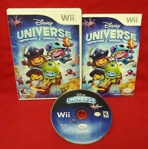 Disney-Universe-Nintendo-Wii-Wii-U-1-4-player-game-tested-amp-fun-Complete