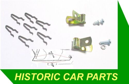 Main FUEL PIPE CLAMPING CLIPS KIT for AUSTIN HEALEY 100//6 BN4 /& BN6 1956-59