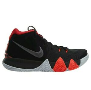 best website 68298 c0ecb Details about Nike Kyrie 4 943806-005 Black Red Basketball Shoes Size 10