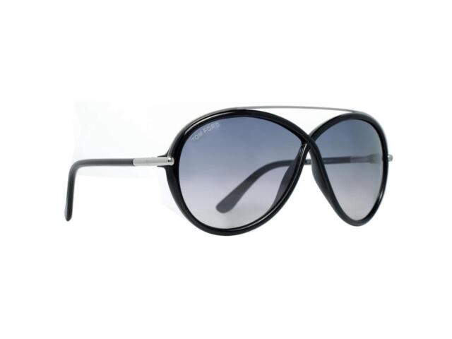 ab055a142f New Tom Ford Women s Sunglasses Tamara TF454 01C Black Frame Smoke Lens  F Ship