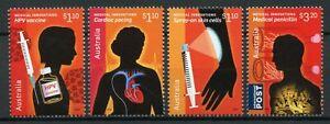 Australia Medical Innovations Stamps 2020 MNH HPV Vaccine Penicillin 4v Set