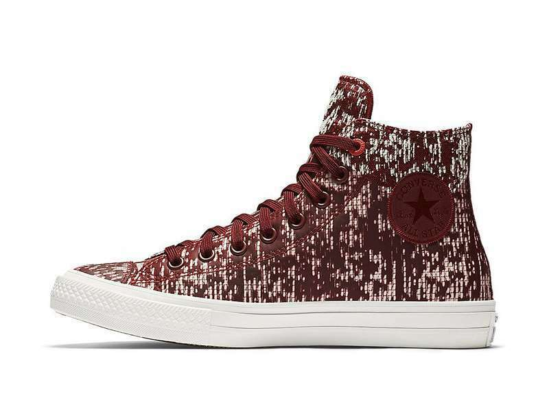 Converse Chuck Taylor CTAS II 153560C Mens Size 7 Red Maroon Womens Size 9 shoes
