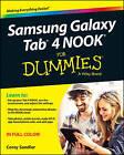 Samsung Galaxy Tab 4 Nook For Dummies by Corey Sandler (Paperback, 2014)