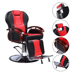 Miraculous Details About Salon Spa Chair Barber Hydraulic Reclining Pu Leather Shampoo Stylist Stations Pabps2019 Chair Design Images Pabps2019Com