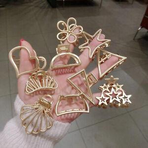 Fashion-Women-Gold-Geometric-Hair-Clips-Barrette-Stick-Hairpin-Hair-Accessories