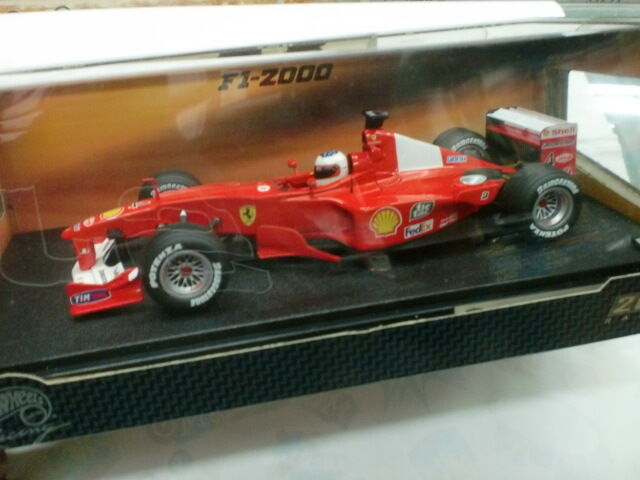 HOT WHEELS 1 18 - FERRARI F1 F 2000 - R. BARRICHELLO