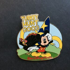 WDW-Turkey-Hunt-2003-Mickey-Mouse-Limited-Edition-1500-Disney-Pin-26809