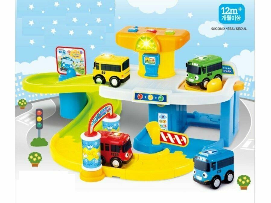 Little Bus TAYO Track Play Set Toy Korea Mini Car Tv Animation Chara_RU
