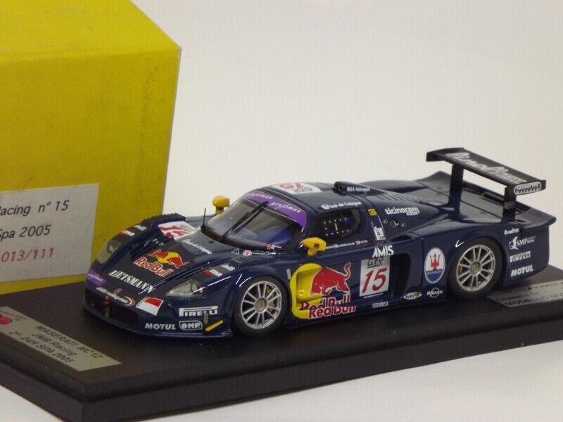Sc Model SCCV13 Maserati MC12 Jmb Racing  15 2° the Mans 2005