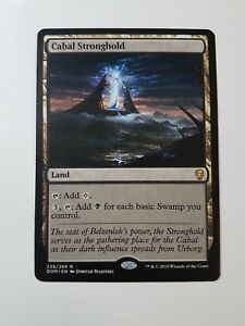 Cabal-Stronghold-Dominaria-Magic-mtg-Rare