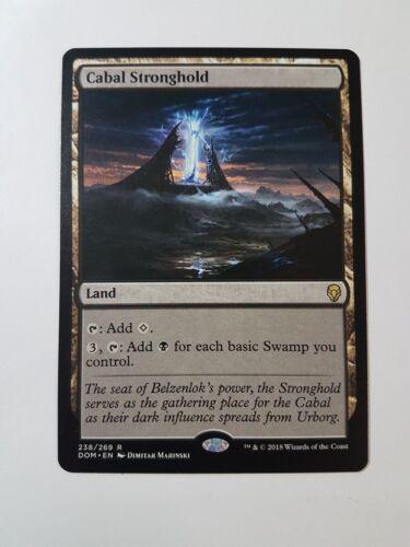 Dominaria Magic//mtg Rare Cabal Stronghold