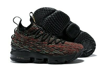 Nike Lebron XV 15 Limited BHM Black Red