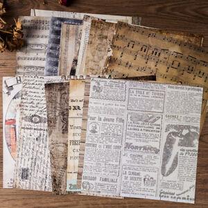 20 Album Hintergrund Papierkarte Scrapbooking Pads Papierherstellung DIY 20*20cm