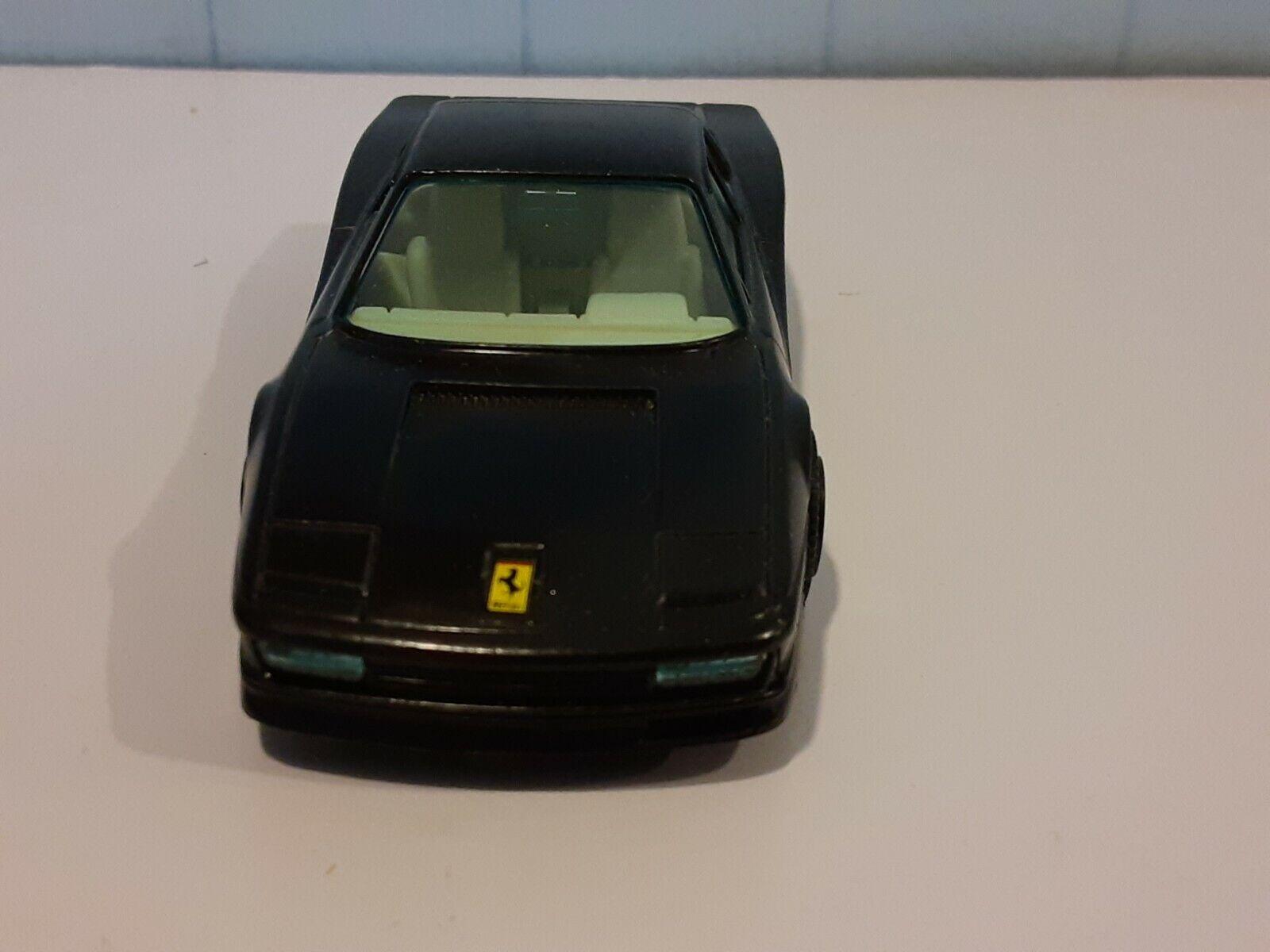 Burago Ferrari Testarossa Extremely rare Collectible chrome Plated Keyring 1:87