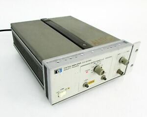 Hp-Agilent-11975A-Microondas-Amplificador-2-8GHz-16dBm