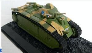 Char-B1-bis-Tank-1-72-metal-Diecast-Model-AMERCOM-WWII-1944-France