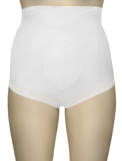 Cortland Shapewear Cuff-Top Firm Control White Shaper Brief Size 32XL