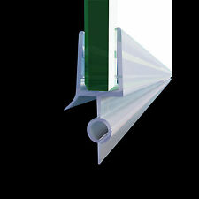 "JT-298-36 Fit 1/4"" Frameless Shower Door Sweep Bottom Seal Wipe Drip Rail 36"""